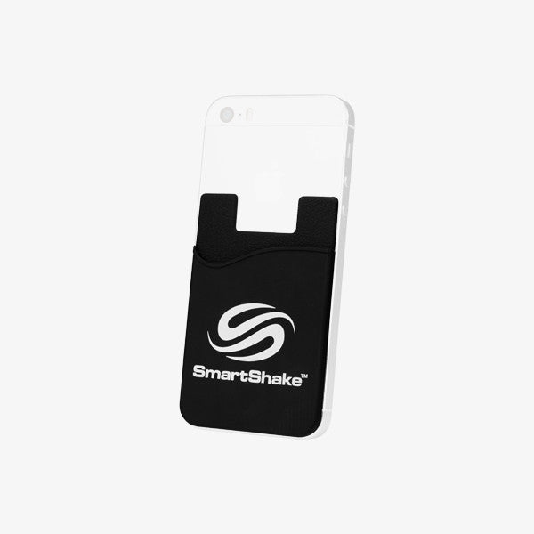 SmartShake Mobile Card Holder Black