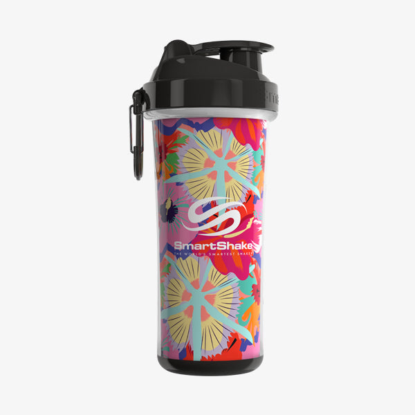SmartShake Double Wall 700ml/24oz Flower Power