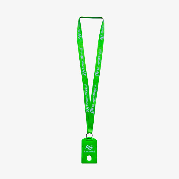 SmartShake Lanyard / Gym Card Holder Neon Green