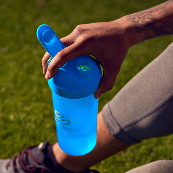 SmartShake Lite 1000ml/33oz Neon Blue