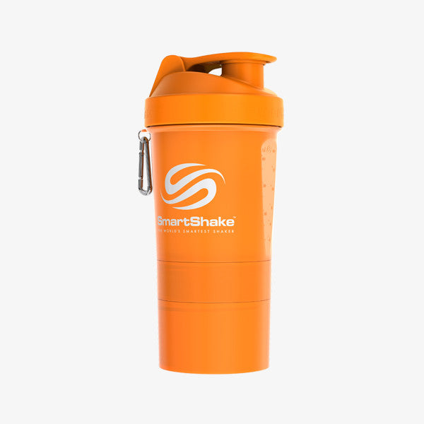 SmartShake Original 600ml/20oz Neon Orange