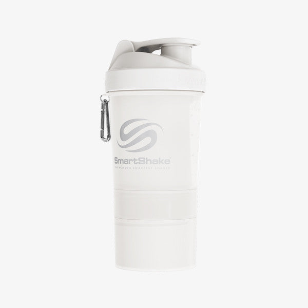 SmartShake Original 600ml/20oz Pure White