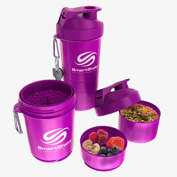 SmartShake Original 600ml/20oz Neon Purple