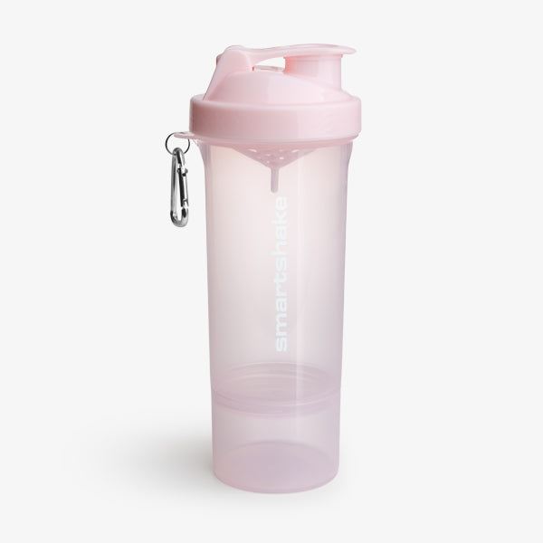 SmartShake Slim 500ml/17oz Cotton Pink