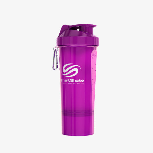 SmartShake Slim 500ml/17oz Neon Purple