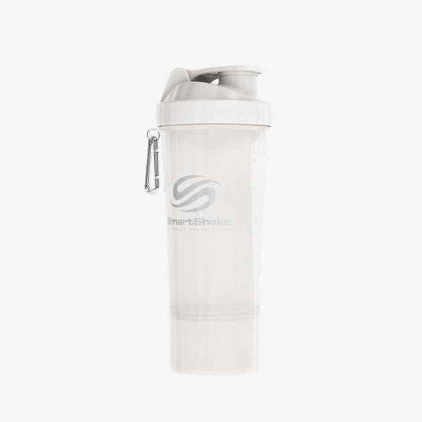 SmartShake Slim 500ml/17oz Pure White