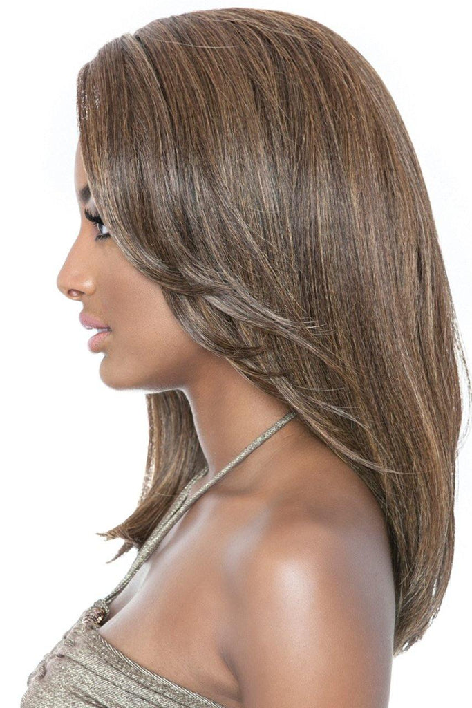 MANE CONCEPT BROWN SUGAR BSS202 ELLE LACE FRONT WIG