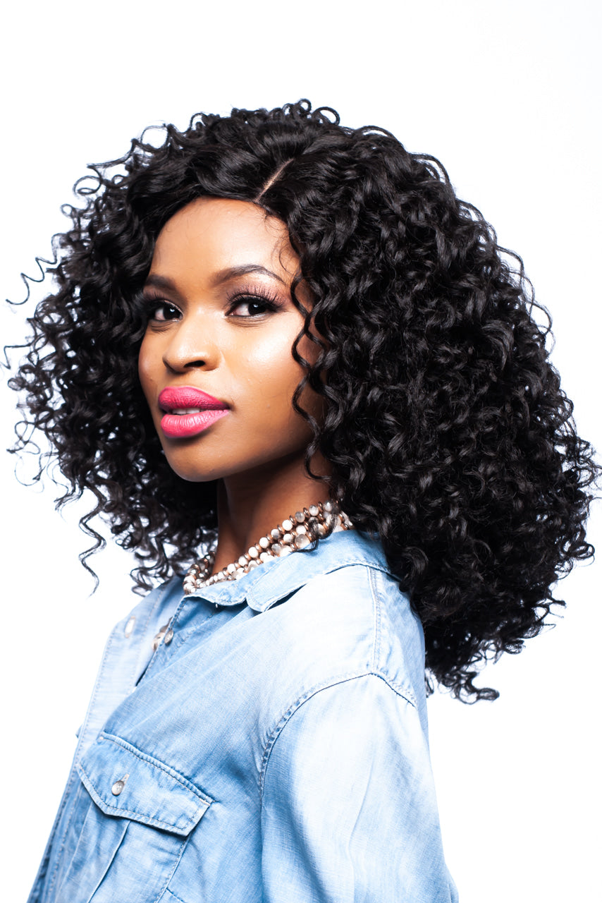 Sensationnel Show Stopper Lace Front Wig