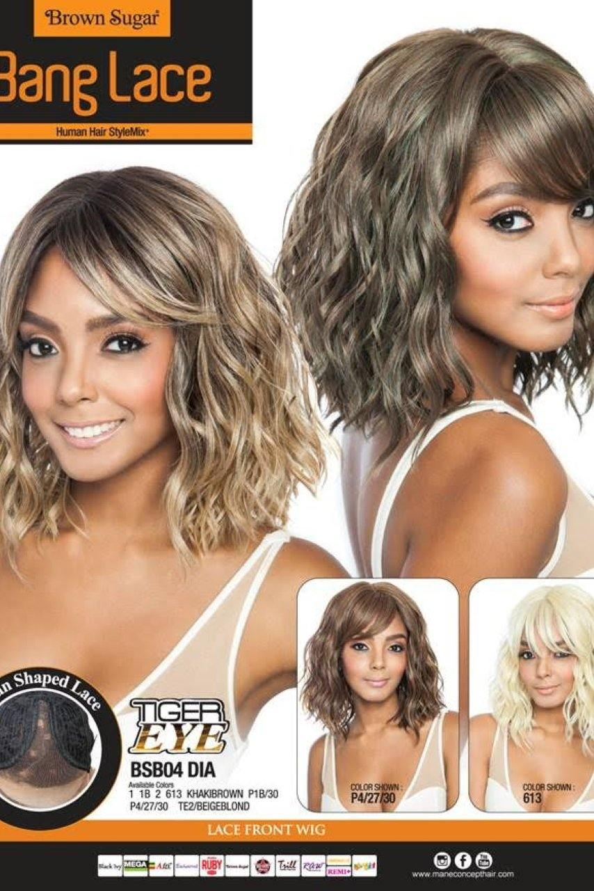 Mane Concept Brown Sugar Bsb04 Dia Lace Front Wig