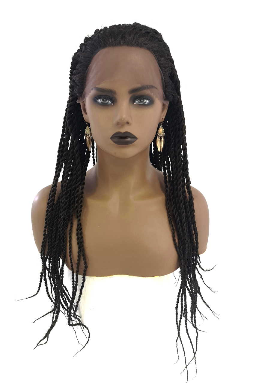 Spice Girls Lotas 3007 Braided Lace Front Wig