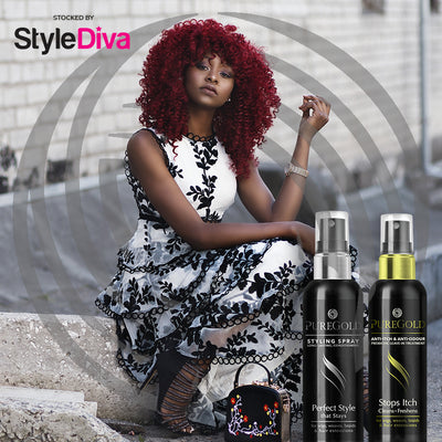 Pure Gold Anti Itch & Odour Styling Spray