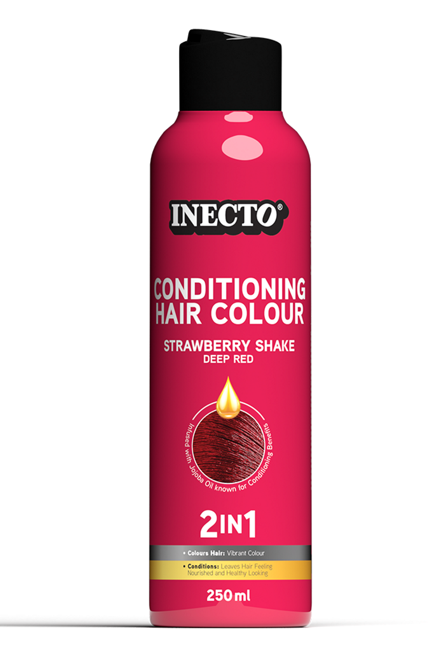 Inecto 2In1Color Conditioner 250Ml Strawberry Shake - StyleDiva