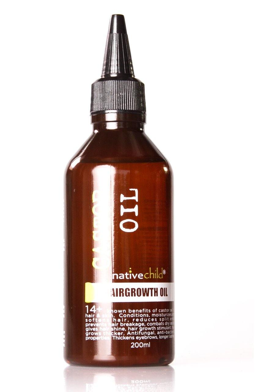 Native Child Hairgrowth Castor Oil 200Ml - StyleDiva