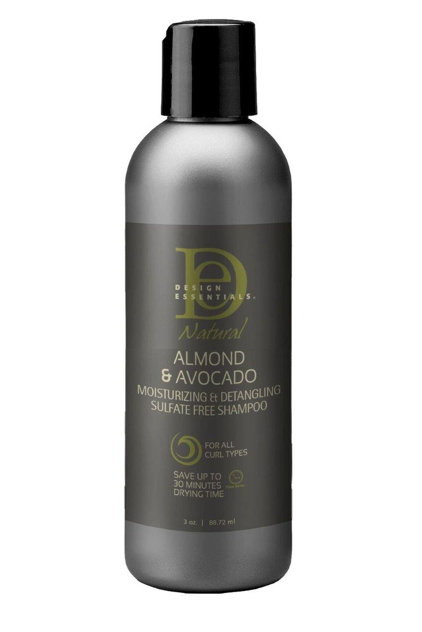 Design Essentials Naturals Almond Avocado Shampoo Mini 3Oz - StyleDiva