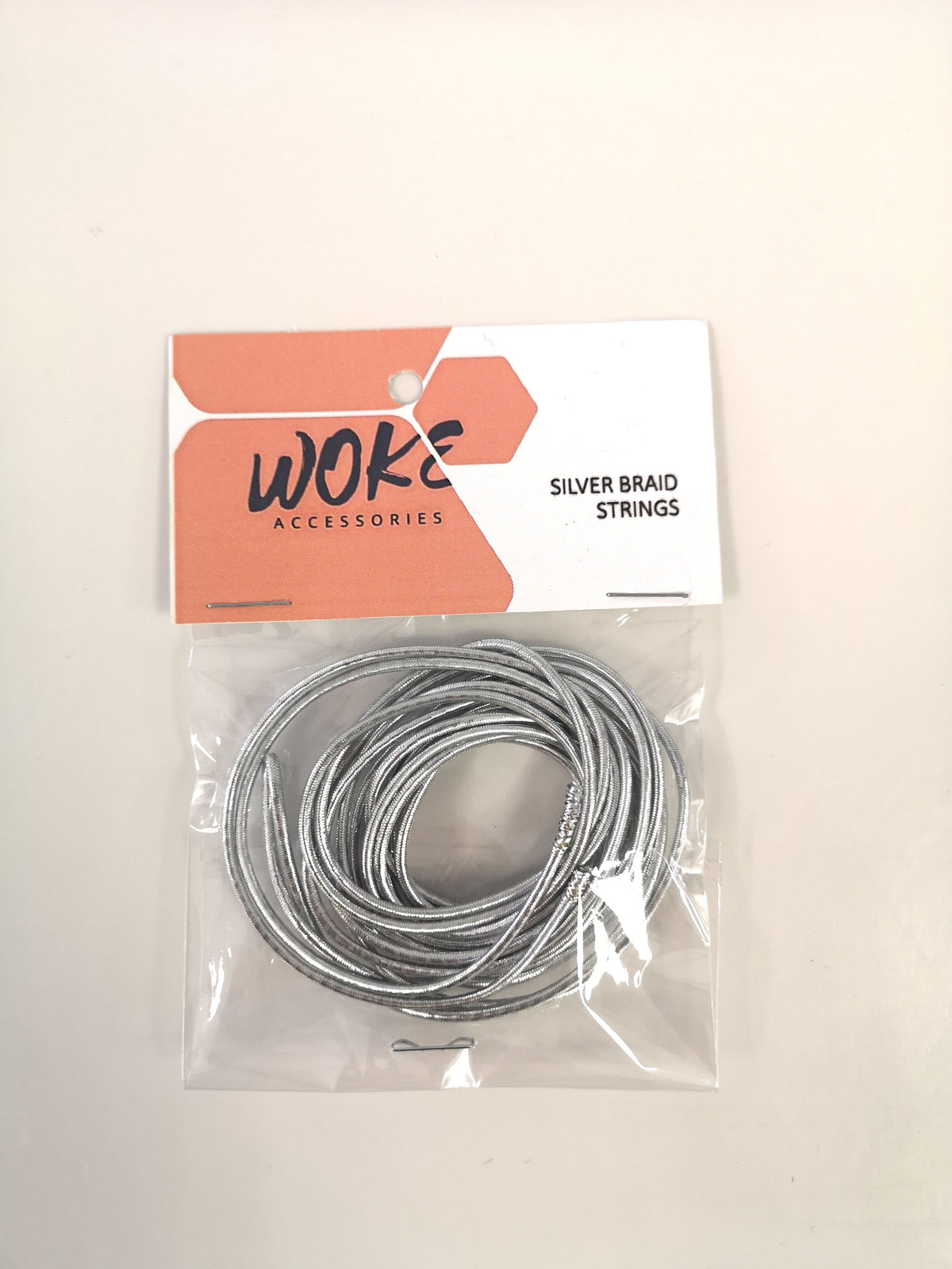 Woke Silver Braid String