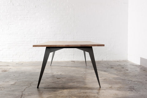 Introducing the Mr Collins industrial dining table