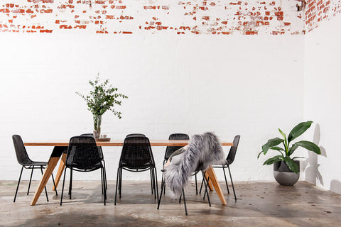 8-seater industrial dining tables Sydney