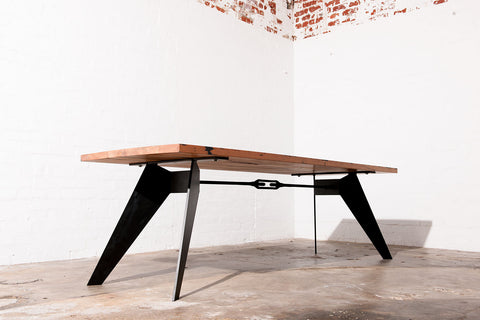 Industrial dining table Brisbane