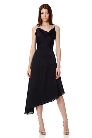 Annalina Cami Strap Asymmetric Midi Dress
