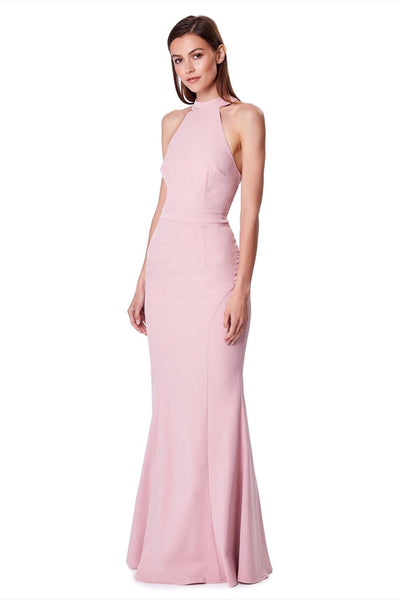 Caden Halter Neck Maxi Dress
