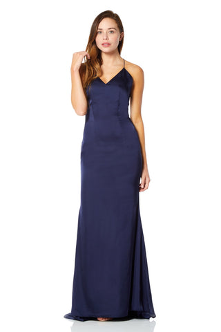 Zariah Maxi Dress with Strappy Open Back Detail