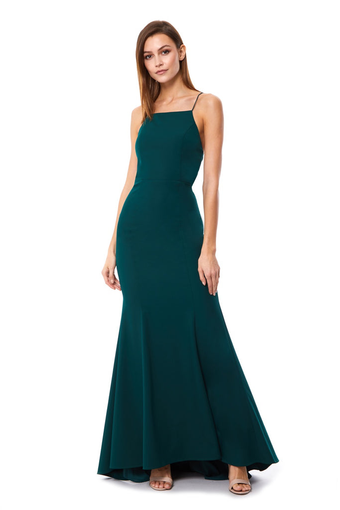 2b782b4127 Jemima Square Neck Maxi Dress with Open Back – Jarlo London
