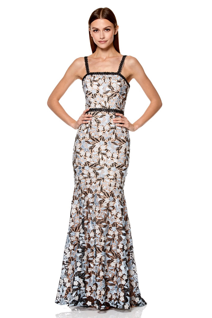 8c78599f0dd Amora All Over Lace Maxi Dress with Shoulder Straps – Jarlo London