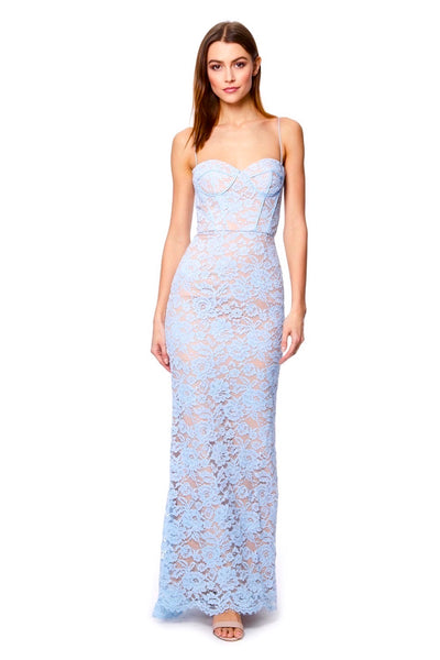 Primrose Allover Lace Cami Strap Maxi Dress