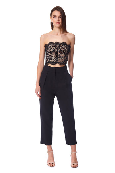 Anea Lace Top & Trousers Two Piece Set