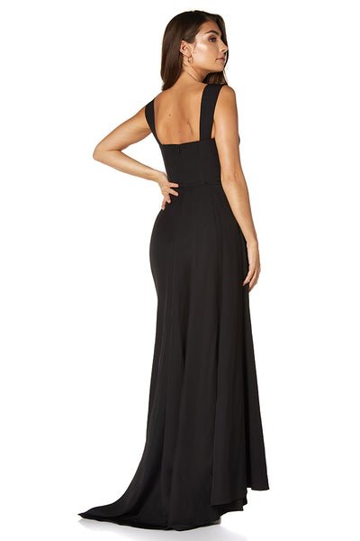 Melody Sweetheart Neckline Fishtail Maxi Dress with Side Split