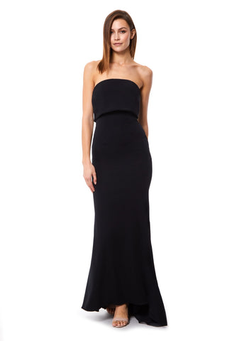 Blaze Strapless Maxi Dress With Overlay