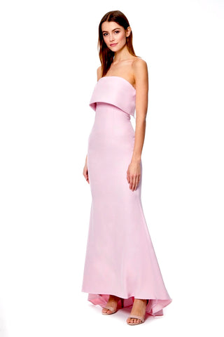 1bce3b7b6c Blaze Strapless Maxi Dress With Overlay
