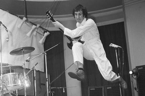 Pete Townshend in Boiler Suit