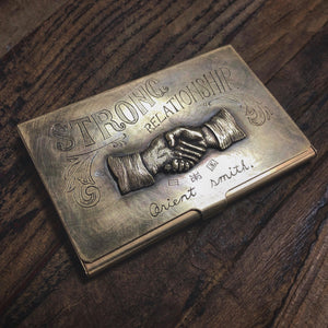 Dawson Denim x Kiuchi Hand Craft Exclusive Collaboration Business Card Holder