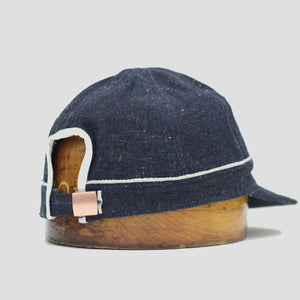 DAWSON DENIM BALL CAP - DD05 NEPPY DENIM 2X1