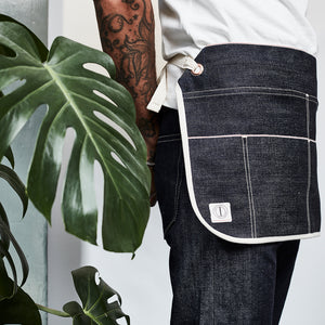 THE CARPENTER BELT APRON : DD04 RED LINE SELVEDGE