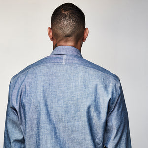 DAWSON DENIM X TRIPLSTITCHED CHAMBRAY SHIRT