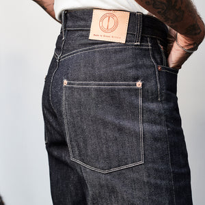DAWSON WIDE TAPERED FIT JEANS : DD01 14.25OZ RED SELVEDGE