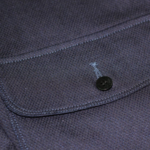 ENGINEER JACKET : DD012 SASHIKO INDIGO DYED DENIM