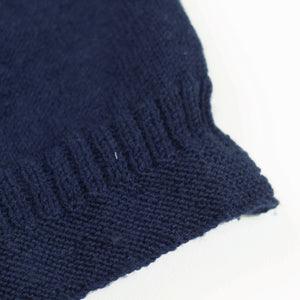 THE GANSY : HAND KNITTED BRITISH WORSTED WOOL