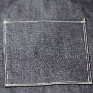 MERCANTILE APRON : DD04 RED LINE SELVEDGE