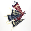 DAWSON DENIM X DRY BRITISH LIMITED EDITION FELT PENNANTS