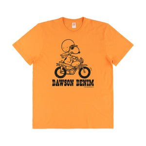 DAWSON DENIM x TSPTR | JOE MOTOCROSS TEE - ORANGE