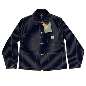WOMENS WABASH SACK JACKET : DD06 11oz Indigo