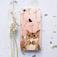 Hipster Cat Phone Case