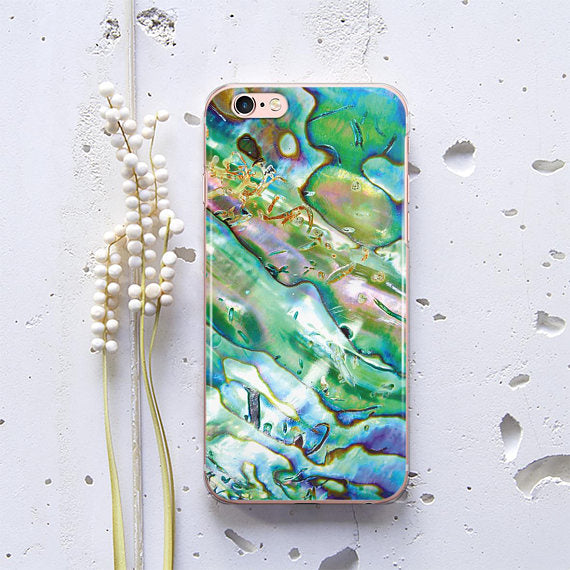 Abalone Shell Phone Case