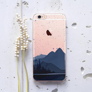 Alien Mountains Phone Case