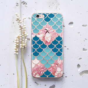 Geometry Marble Phone Case