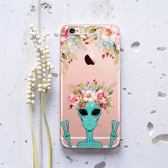 Transparent X-files Phone Case
