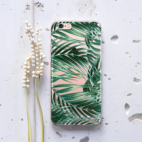Rubber Tropical Phone Case